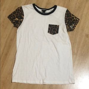 Rue 21 cheetah print t shirt